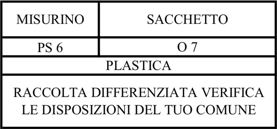etichetta ambientale proteine in busta keforma